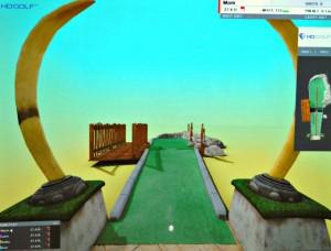 Golf Sim putt putt 2