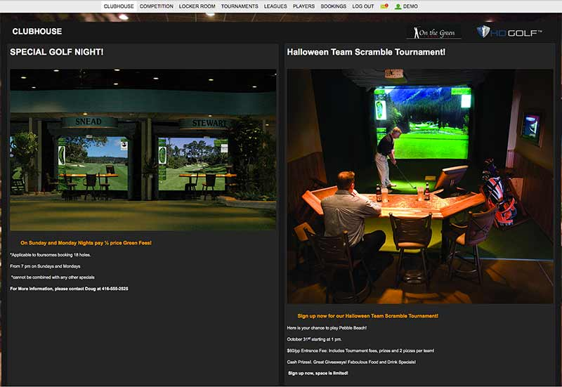 HD Golf™ Clubhouse Management System | ardensales com